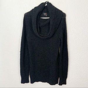 Miss Sixty Cowl Neck Sweater Dress XS